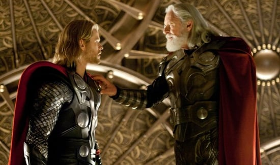 Trailer for Thor Starring Chris Hemsworth, Natalie Portman, and Anthony Hopkins