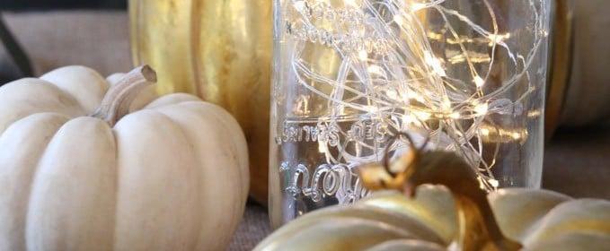 12 Gorgeous Mason Jar Thanksgiving Decorating Ideas