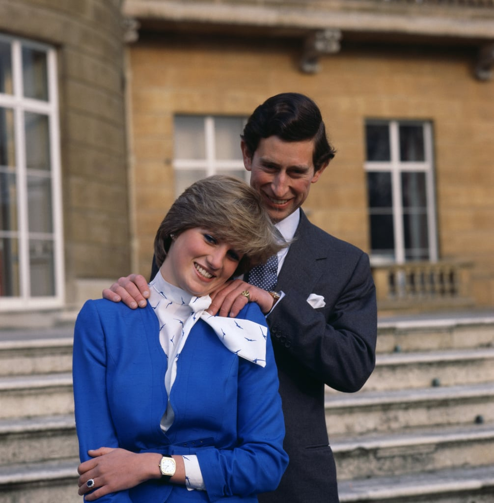 Princess Diana's Engagement Outfit