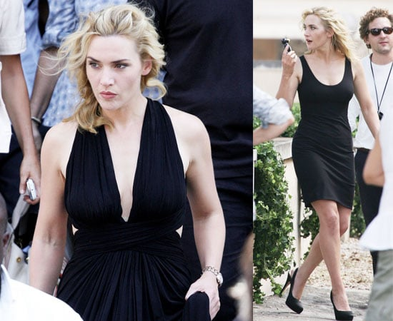 Pictures of Kate Winslet in Italy Filming Watch Advert With Lin Chi-Ling and Aishwarya Rai