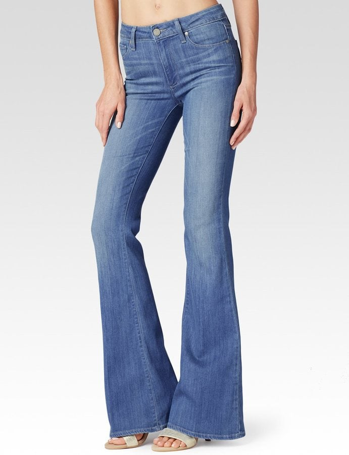 Paige High Rise Bell Canyon Jeans ($199)