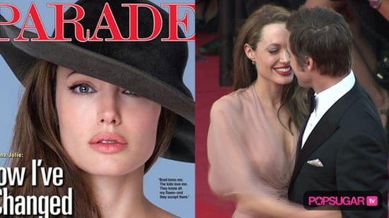 Angelina Jolie Interview About Brad Pitt in Parade Magazine
