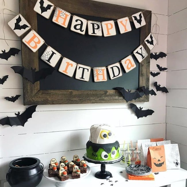 halloween birthday party ideas for kids popsugar moms