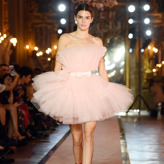 Kendall Jenner Walked the H&M x Giambattista Valli Runway