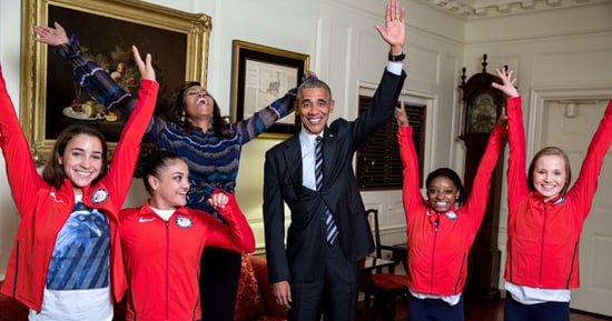 Final Five Met Barack and Michelle Obama and Asked, 'Will You Please Adopt Us?!'
