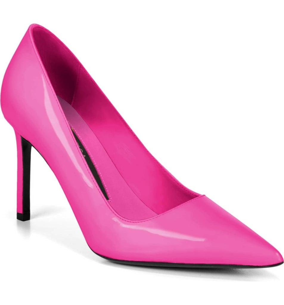 c1e6d2f2c14f Via Spiga Nikole Pointy Toe Pump | Michelle Obama Sequin Top and ...