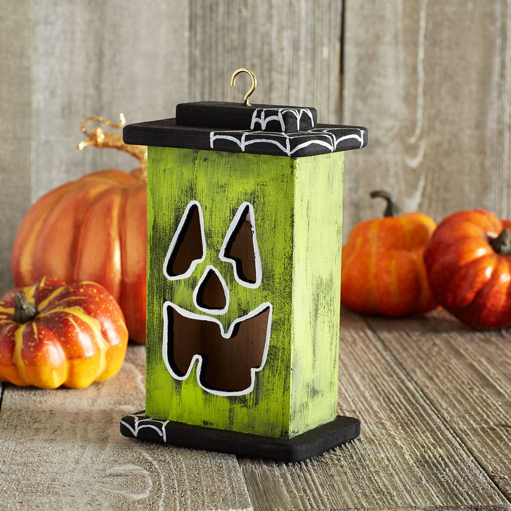 Happy Led Wood Jack O Lantern 1 8 Michaels Is Officially Selling Halloween Supplies So Get Crafting Popsugar Smart Living Photo 9