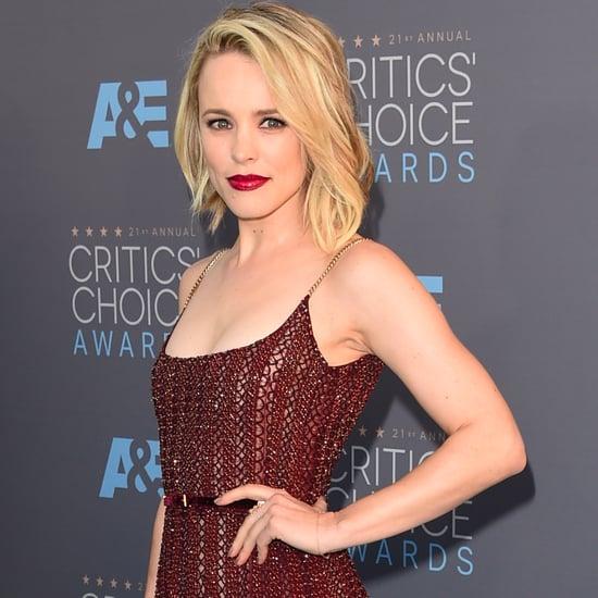 Rachel McAdams's Dress at Critics' Choice Awards 2016
