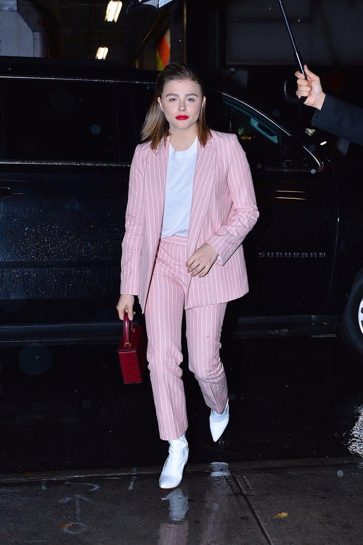 Chloe Grace Moretz Wearing Victoria Beckham Popsugar Fashion Australia