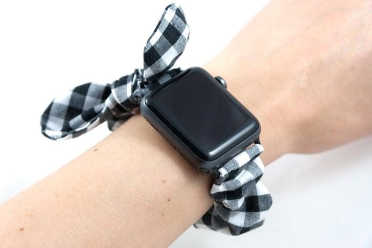 20 Cute Scrunchie Bands That Will Dress Up Your Apple Watch | POPSUGAR Tech
