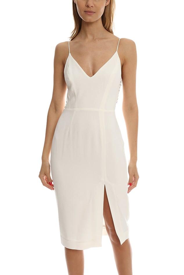 Zimmermann Crepe Harness Mini Dress ($525)