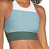 Outdoor Voices Tri-Tone Slashback Crop Top