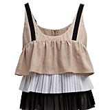 Pleat detail cami (£34)