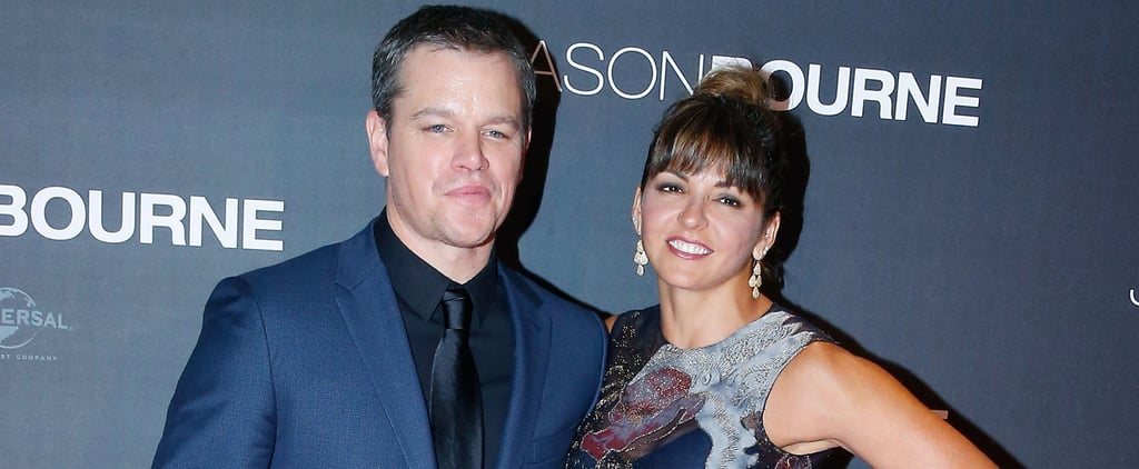 Matt Damon Hits the Red Carpet With His Gorgeous Wife by His Side