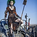 Pole-cats need only carry a tall pole with them and embrace the post-apocalyptic fashions of the franchise!