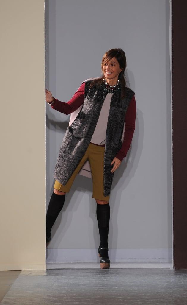 You can see where Marni gets its quirky edge — from designer Consuela Castiglioni!