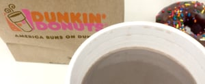I Tried Dunkin' Donuts's Oreo Hot Chocolate, and Here's What Happened
