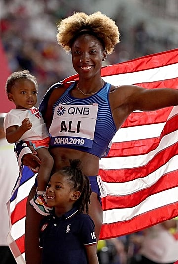 Mums Who Won Gold at the 2019 IAAF World Championships