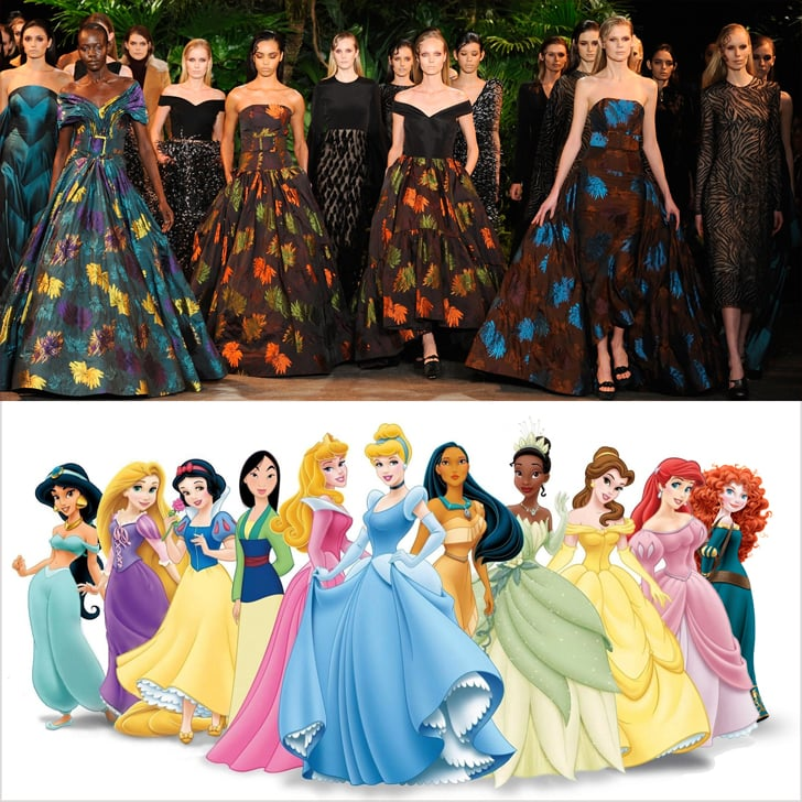 Dresses That Look Like Disney Princess Gowns Fall 2015 Popsugar