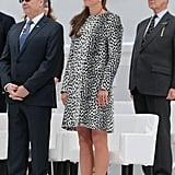 Kate Middleton made her last solo appearance.