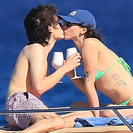 Ella Emhoff and Boyfriend Sam Hine Kiss in St.-Tropez