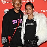 Jada Pinkett and Jaden Smith at 2018 Sundance Film Festival