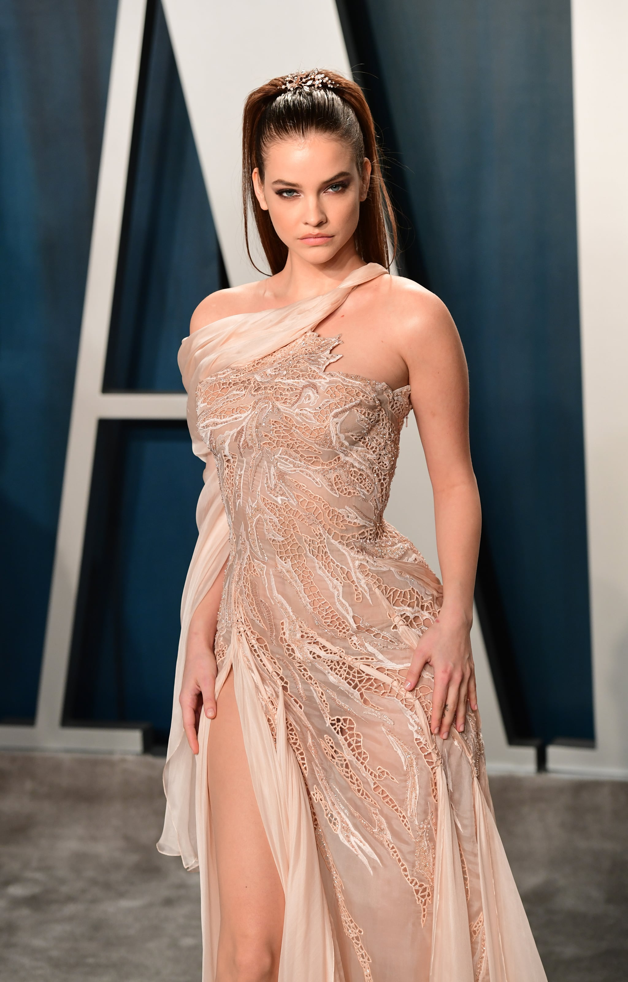 Barbara Palvin At The Vanity Fair Oscars Afterparty 2020 See Every Incredible Dress At The Vanity Fair Oscars Afterparty Popsugar Fashion Photo 91