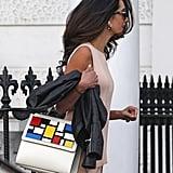 Amal Clooney Wearing Stella McCartney Sweater Set