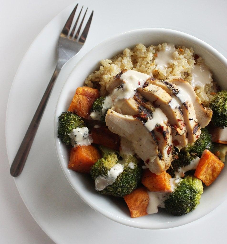 Chicken Vegetable Quinoa Bowl