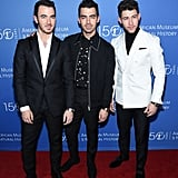 The Jonas Brothers at the American Museum Of Natural History Gala