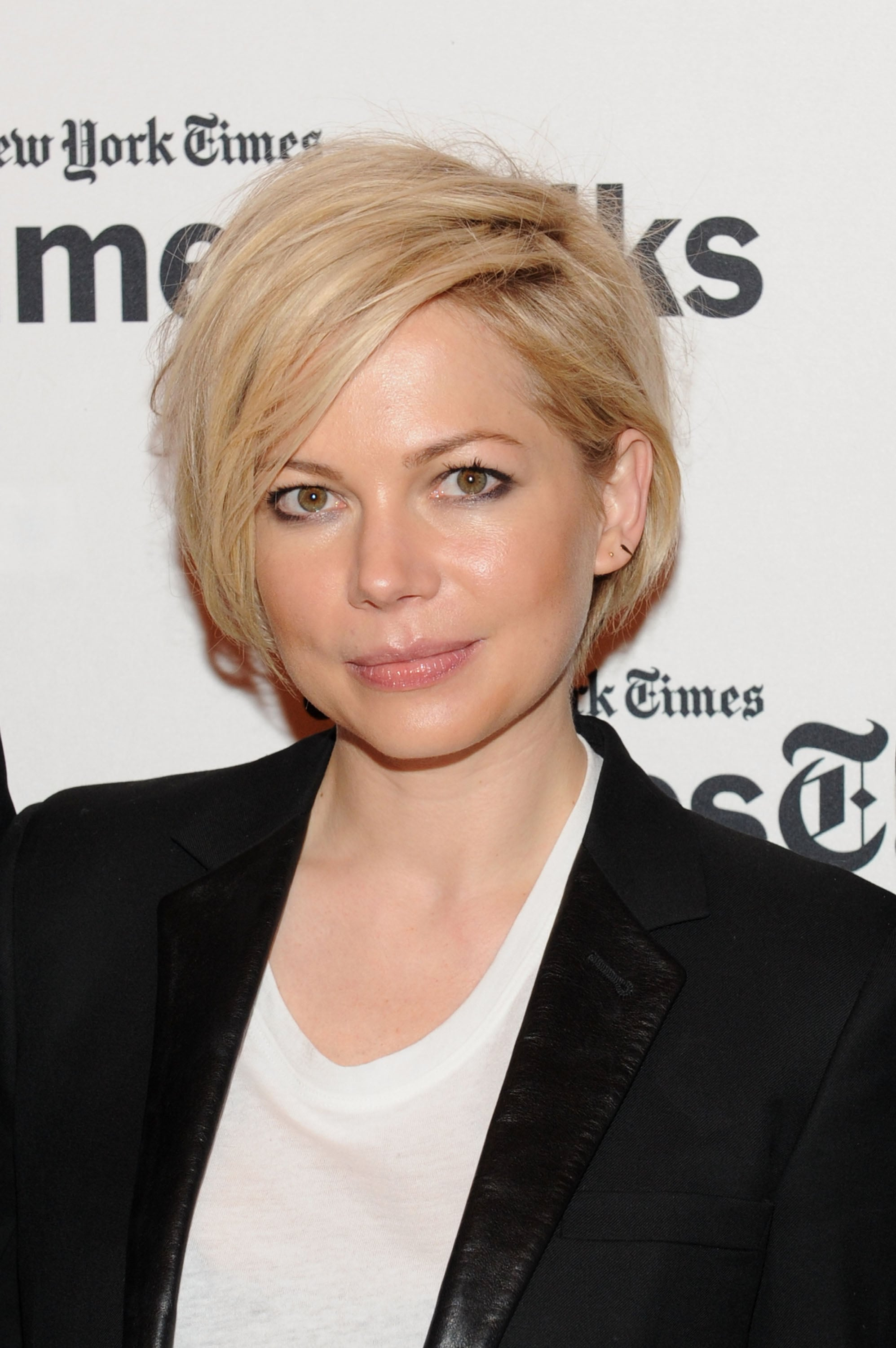 Michelle Williams Grown Out Hair February 2014 Popsugar