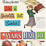 Only one gram of sugar per serving . . . and only 100,000 servings per candy bar!