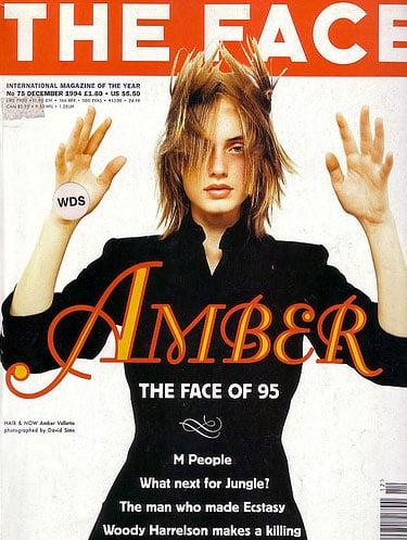 Dec. 1994: Amber Valletta