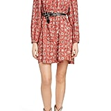 Isabel Marant Étoile Tockya Print Linen Swing Dress