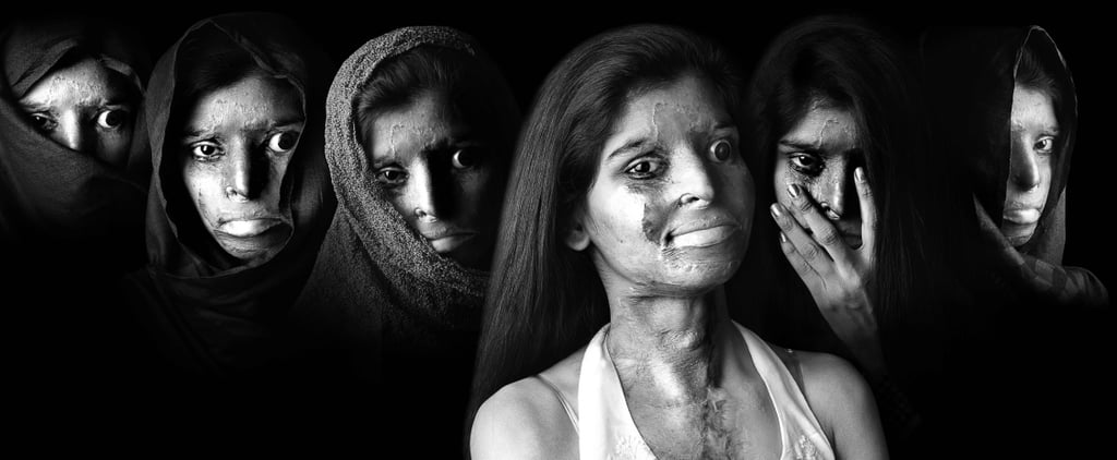 This Incredible Portrait Series of Acid Attack Survivors Proves Bravery Is Beautiful