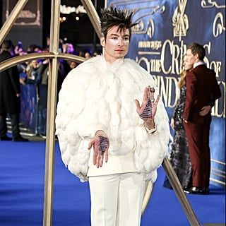 Ezra Miller at Fantastic Beasts 2 London Premiere 2018