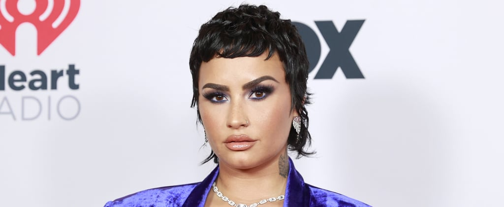 Demi Lovato Debuted Mullet Hairstyle at iHeartRadio Awards