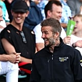 David Beckham With Romeo and Cruz at the 2018 Invictus Games