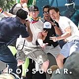 Channing Tatum at LA Gay Pride Parade 2015