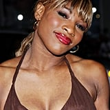 Serena Williams at the Friday Night Lights Premiere in 2004
