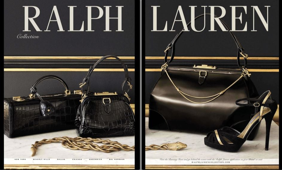 Ralph Lauren Collection Fall 2012 Ad Campaign