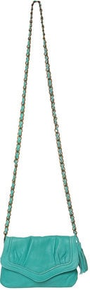 The Bag to Have: Topshop Leather Turquoise Cross-Body Bag