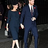 Meghan's Outfit For the Centenary of the Armistice Service