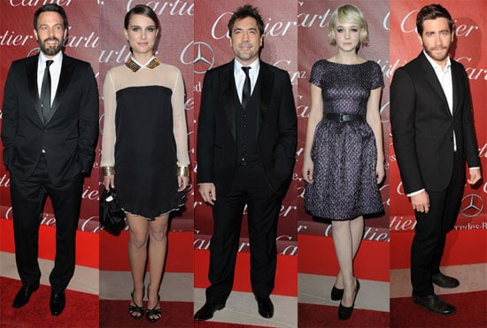 Pictures of Ben Affleck, Natalie Portman, and More on the Palm Springs International Film Festival Awards Gala Red Carpet 2011-01-10 00:21:09