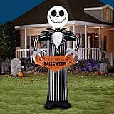 "Disney Jack Skellington Airblown Inflatable ""Every Day Is Halloween"""