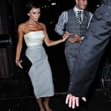 Victoria and David Beckham in NYC
