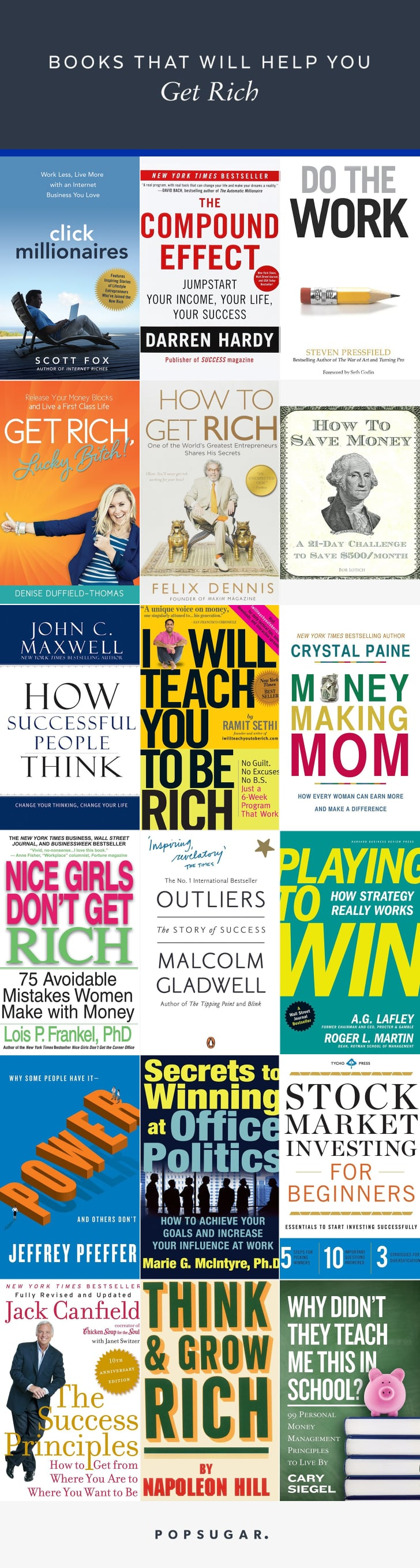 18 Books That Will Help You Get Rich