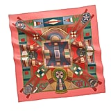 Gift an iconic bit of luxury she might just pass down to her own daughter one day.  Hermès Silk Twill Scarf ($410)
