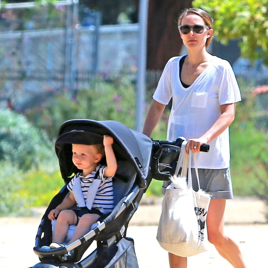 Natalie Portman and Aleph at the Natural History Museum
