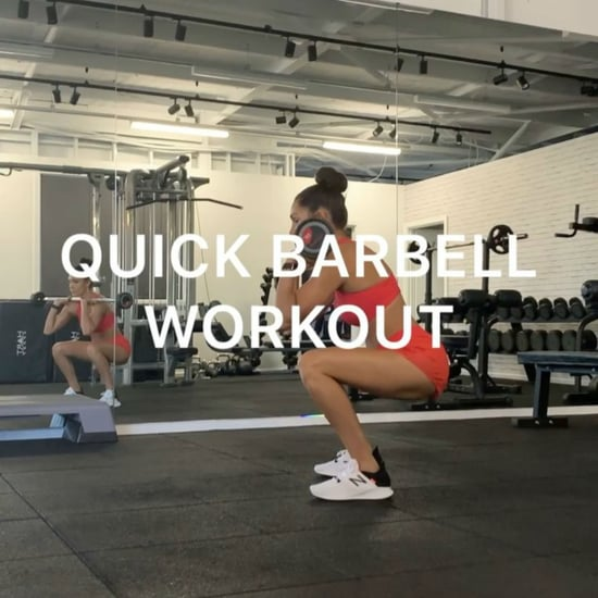 Kayla Itsines 7-Minute Barbell Workout